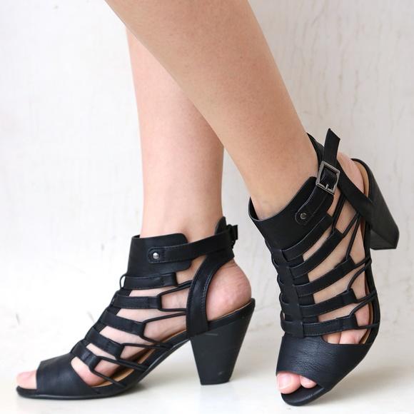 Gladiator Block Heels